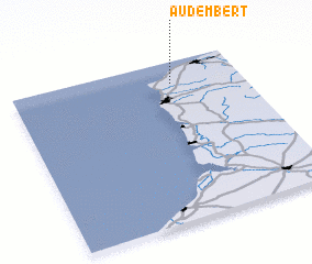 3d view of Audembert