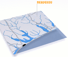 3d view of Méavékou