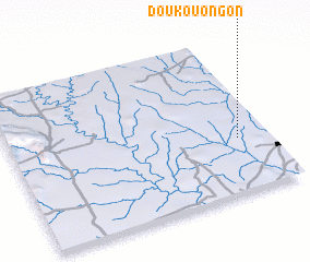 3d view of Doukouongon