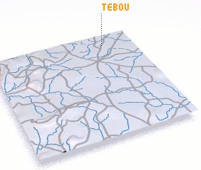 3d view of Tébou