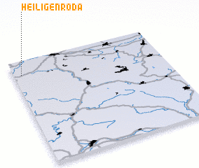 3d view of Heiligenroda