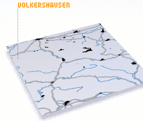 3d view of Völkershausen