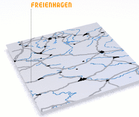 3d view of Freienhagen