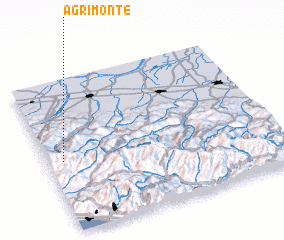 3d view of Agrimonte
