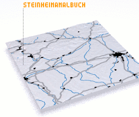 3d view of Steinheim am Albuch