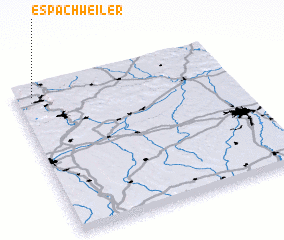 3d view of Espachweiler