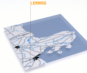3d view of Lemming