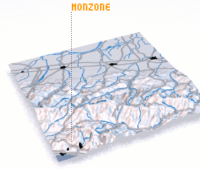 3d view of Monzone