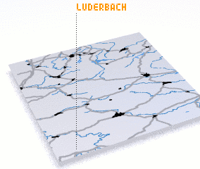 3d view of Lüderbach