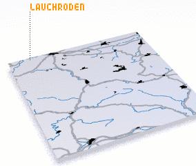 3d view of Lauchröden