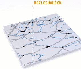 3d view of Herleshausen