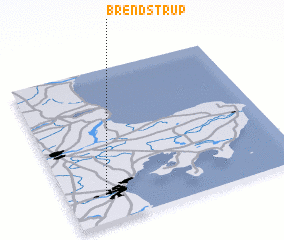 3d view of Brendstrup