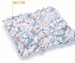 3d view of Galtür