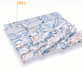 3d view of Zell