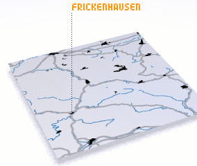 3d view of Frickenhausen