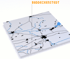 3d view of Baddeckenstedt
