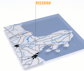 3d view of Risskov