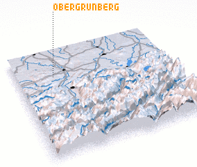 3d view of Obergrünberg