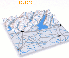 3d view of Bovegno