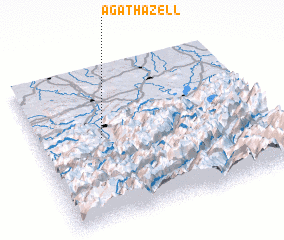 3d view of Agathazell