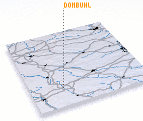 3d view of Dombühl