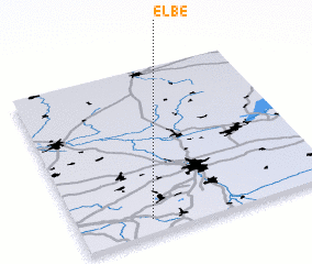 3d view of Elbe