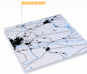 3d view of Högersdorf