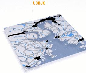 3d view of Løkje