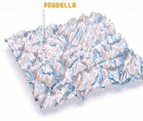 3d view of Pradella