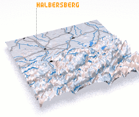 3d view of Halbersberg