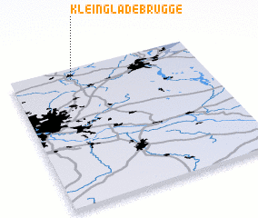 3d view of Klein Gladebrügge