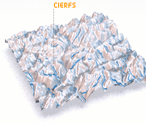 3d view of Cierfs