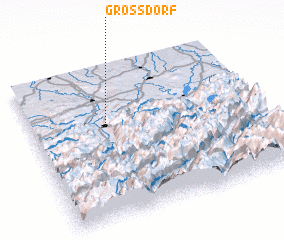 3d view of Großdorf
