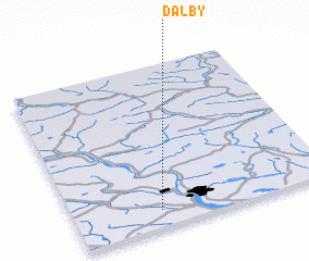 3d view of Dalby
