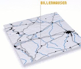3d view of Billenhausen