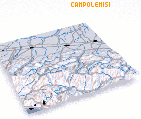 3d view of Campolemisi
