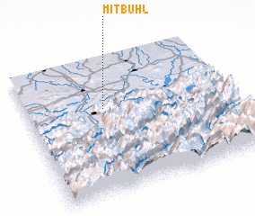3d view of Mitbühl