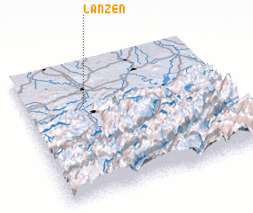 3d view of Lanzen