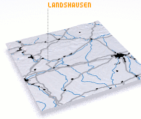 3d view of Landshausen