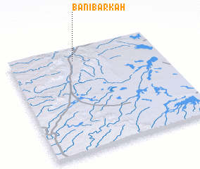 3d view of Banī Barkah