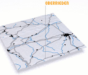 3d view of Oberrieden