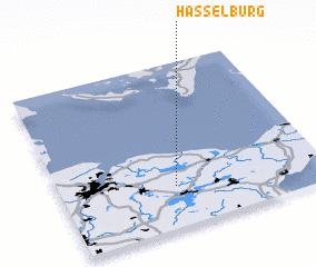 3d view of Hasselburg