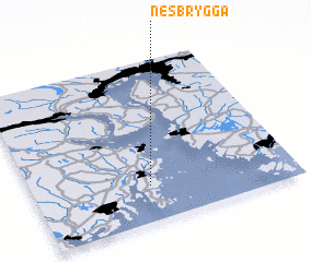 3d view of Nesbrygga