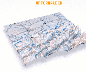 3d view of Unterhalden