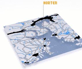 Horten Norway map nonanet
