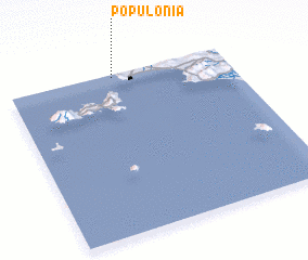 3d view of Populonia