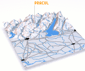 3d view of Pracul