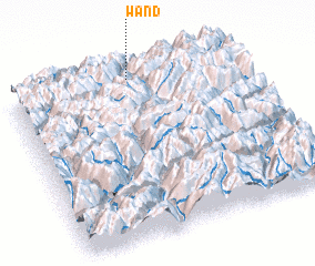 3d view of Wand