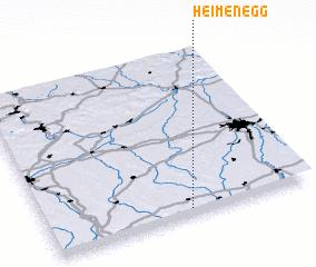 3d view of Heimenegg
