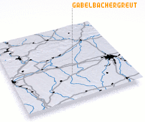 3d view of Gabelbachergreut